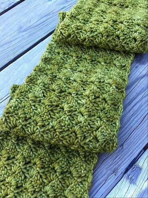 Beautiful scarf (crochet and free pattern) <3