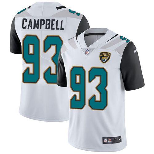 Youth Nike Jacksonville Jaguars #93 Calais Campbell Elite White NFL Jersey Peyton Manning jersey