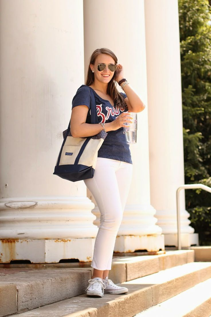 covering the bases, what to wear to a baseball game, how to look cute at a baseball game