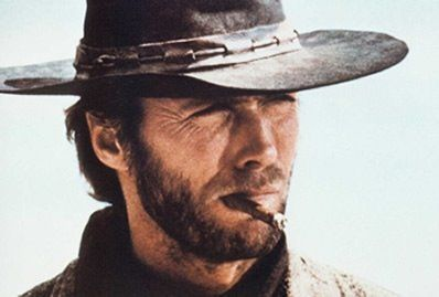 Clint and cigar.