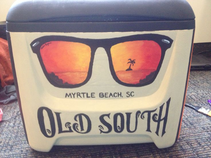 Ray Ban Sunset Painted Cooler - Old South KA Beach Weekend