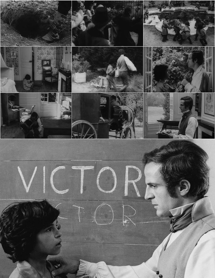 Francois Truffaut L Enfant Sauvage Salvaje Pequena Cineastas