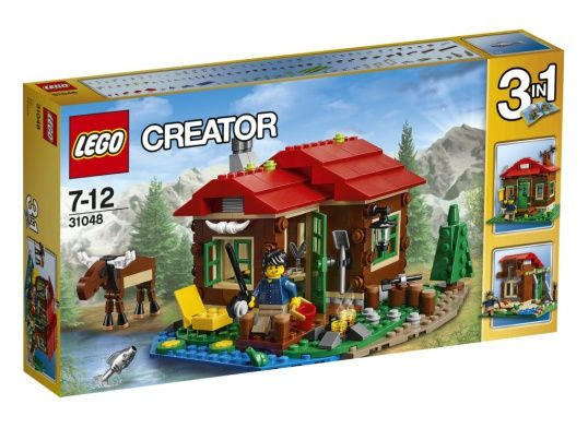 31048 LEGO CREATOR: Домик на берегу озера