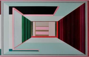 "Saatchi Art Artist Cécile van Hanja; Painting, ""Bounded rationality"" #art"