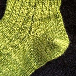 [vidéo] Tricoter un talon de chaussette en rangs raccourcis Plus