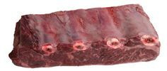 Beef ribs are a tasty but tough section of meat. There are several subsections and cuts from the ribs: Back ribs, ribeyes, short ribs, English cut, flanken cut ribs, riblets, boneless short ribs.