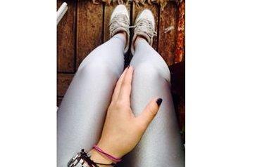 Silver shiny #pcpleggings   #pcpclothing #pcpinia