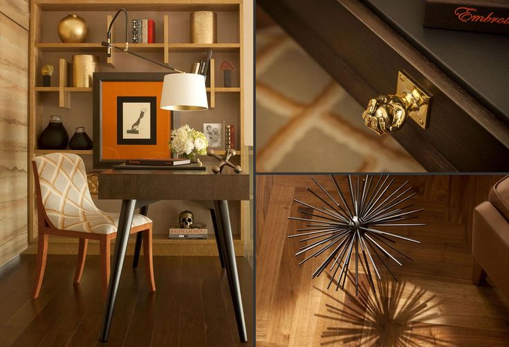Hyde Park Luxury Apartment - Study - Interior Design by Intarya – Interior Design by Intarya