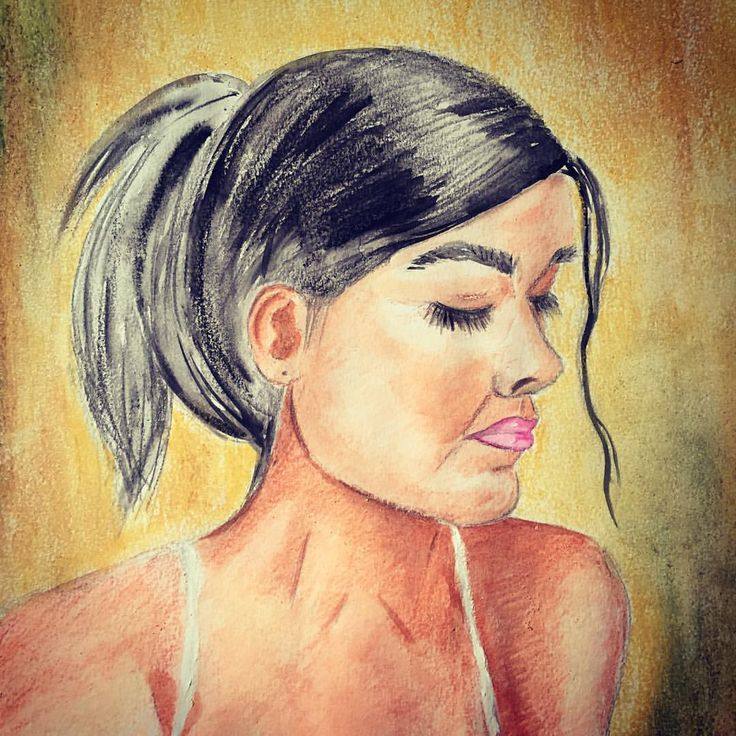 #inspiration #illustration #portrait #woman #face #natural #beauty #art #artsy #artist #artwork #painting @natgeocreative #drawing #sketch #watercolor #colorful #colors #lover @artpeoplegallery
