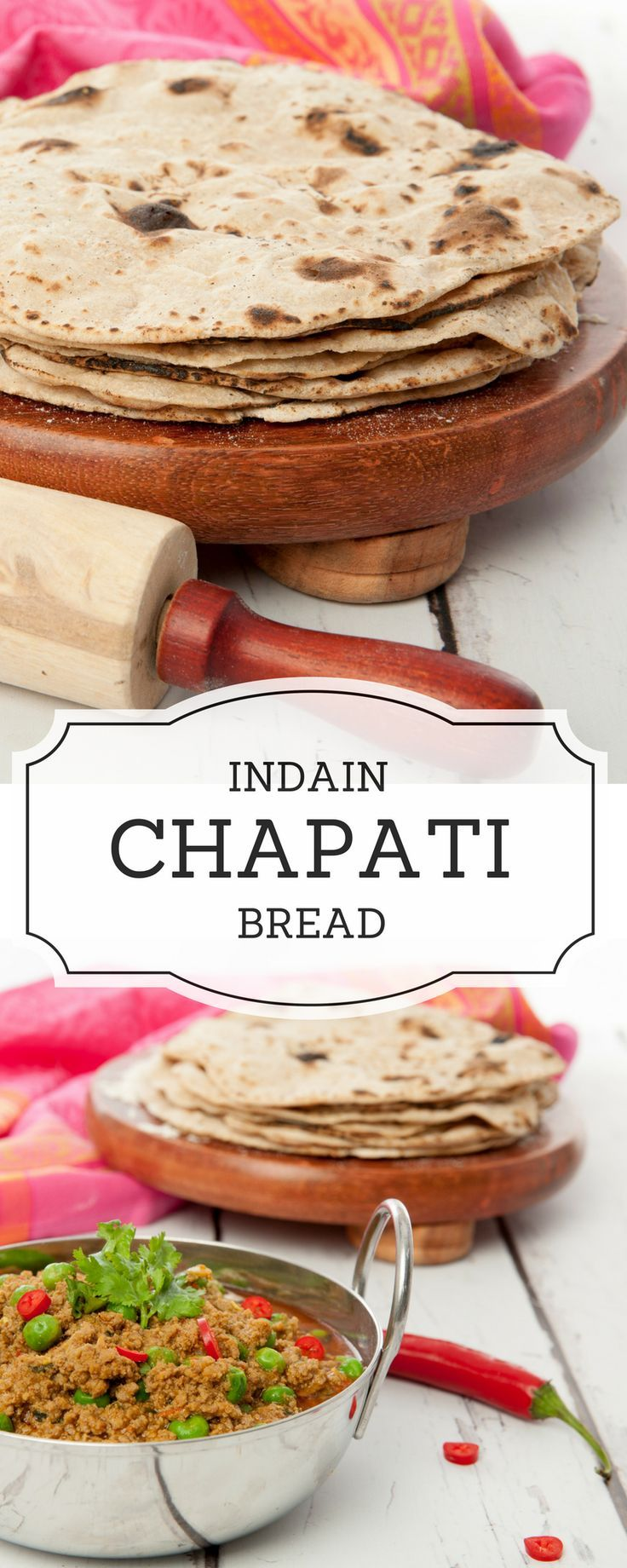 Make your own authentic Indian Chapati Bread in minutes. Step by Step how to...