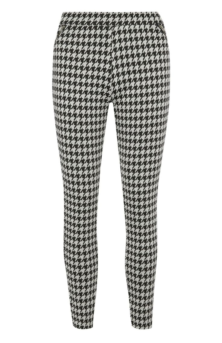 Primark - Zwart-witte legging met ritsdetail