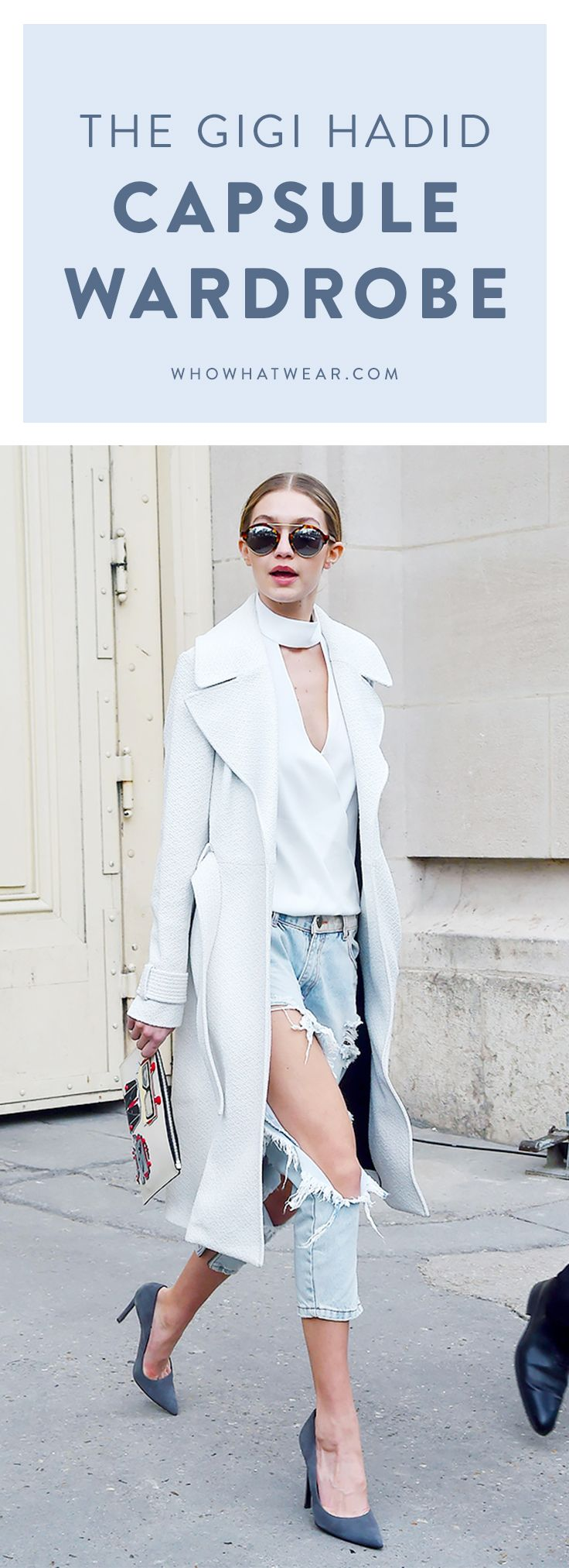 How to get Gigi Hadid's style with just 10 pieces
