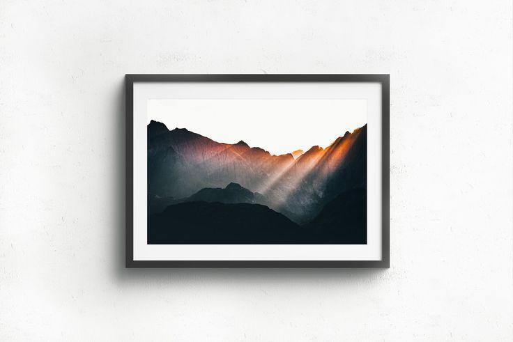 Framed Lofoten Light Rays.jpg