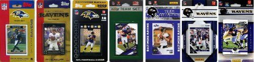 NFL Baltimore Ravens 7 Different Licensed Trading Card Team Sets - http://nfledge.net/nfl-baltimore-ravens-7-different-licensed-trading-card-team-sets/ - This package is a must for all Baltimore Ravens fans. You'll get Official Topps and Score NFL team sets from the last seven years, featuring your favorite Ravens players. Product Features  Three Topps and Four Score Team Sets Top stars and other fan favorites Officially Licensed Product Compare stats for all your fav