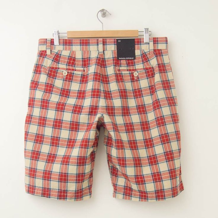 Image result for mens plaid shorts