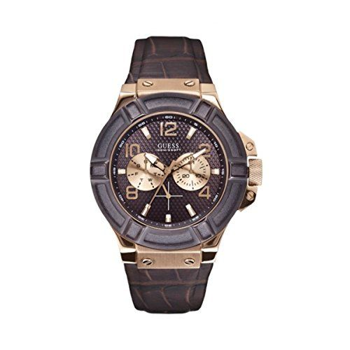 Men s Wrist Watches - GUESS Mens U0040G3 Rigor Standout Rose GoldTone  MultiFunction Watch     5f32668a43