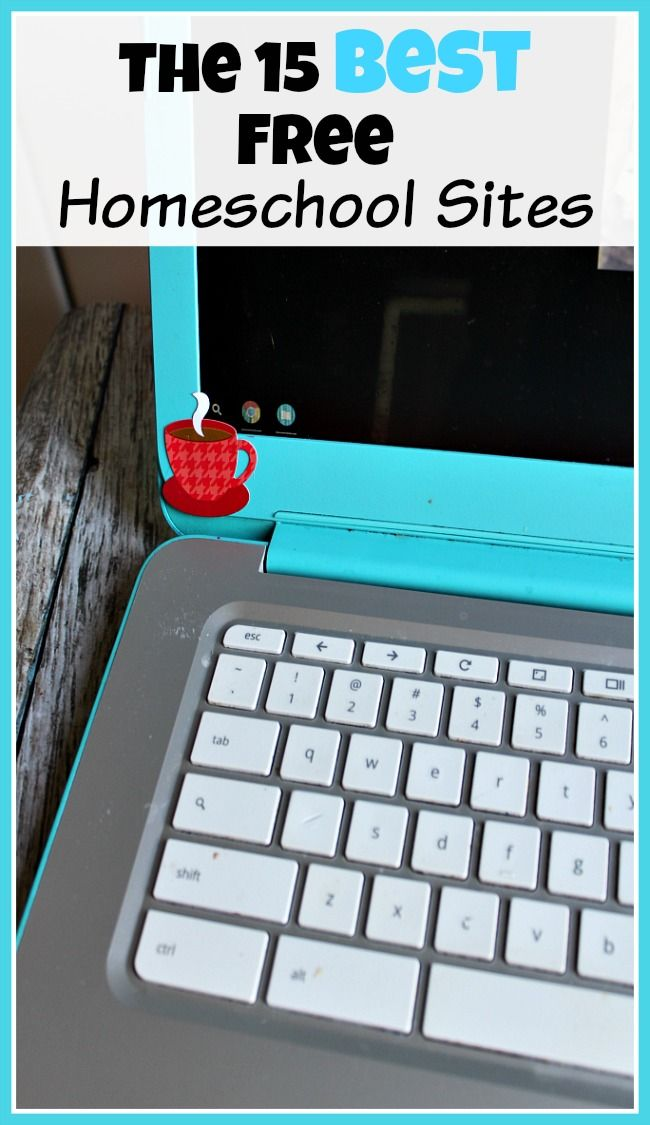 15 Free Homeschool Sites - If you want to homeschool for free or frugally, then using free online resources can help a lot! Take a look at this list of the best free homeschool sites!