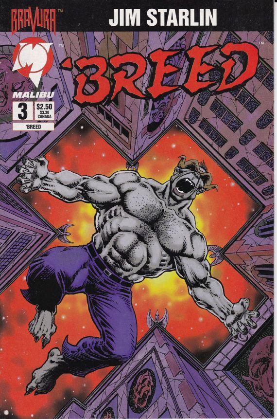 Breed 3  January 1994   Malibu Comics  Grade VF by ViewObscura