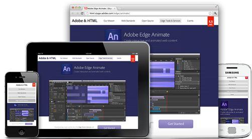 Adobe Edge Animate: software para crear animaciones html5