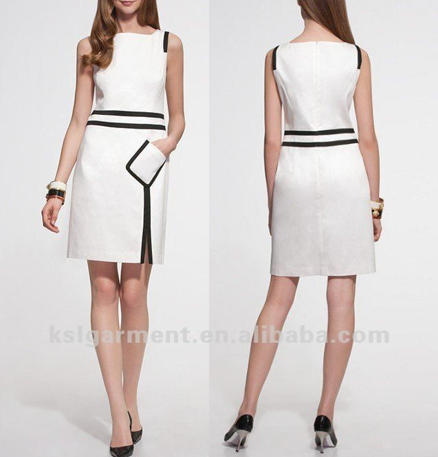 robe de bureau de dames de robe de carri re professionnelle jupe extra large id du produit. Black Bedroom Furniture Sets. Home Design Ideas