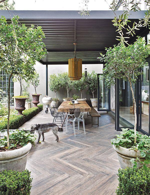 Eine Mischung aus Alt und Neu in diesem romantischen Haus in Johannesburg, Südafrika – als