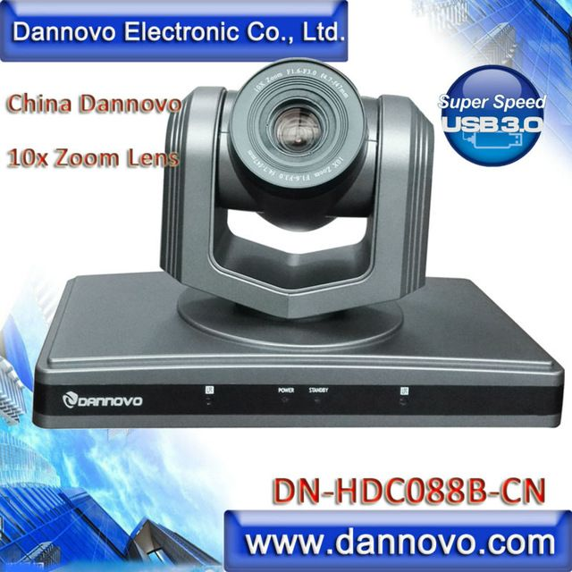 Free Shipping DANNOVO HD USB 3.0 Video Conference Camera,PTZ 10x Optical Zoom,Support UVC(DN-HDC088B-CN) US $989.00 /piece To Buy Or See Another Product Click On This Link  http://goo.gl/EuGwiH