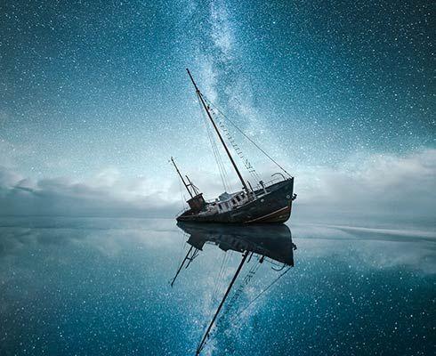 Constelații, culori și lumini pe cerul dramatic al Finlandei - GALERIE FOTO