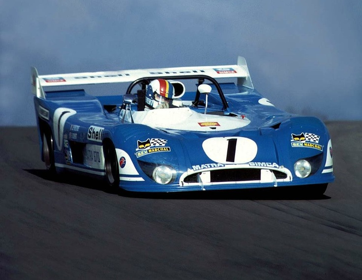 Francois Cevert in the amazing Matra MS670B with the Matra MS72 V12 2993 cc engine