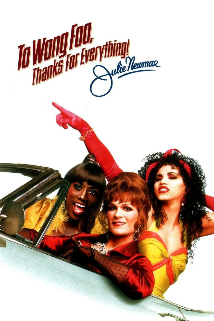 To Wong Foo - Yeah, look closer and you'll recognize Wesley Snipes, Patrick Swayze and John Leguizamo! An excellent movie! #cinema #movie