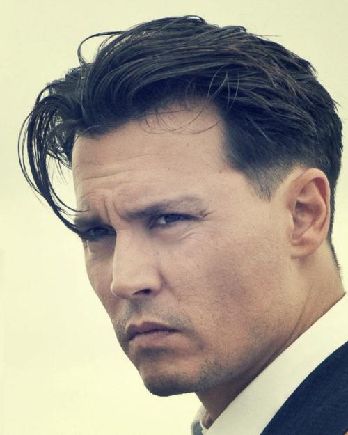 Johnny Depp in  'Public Enemies'.