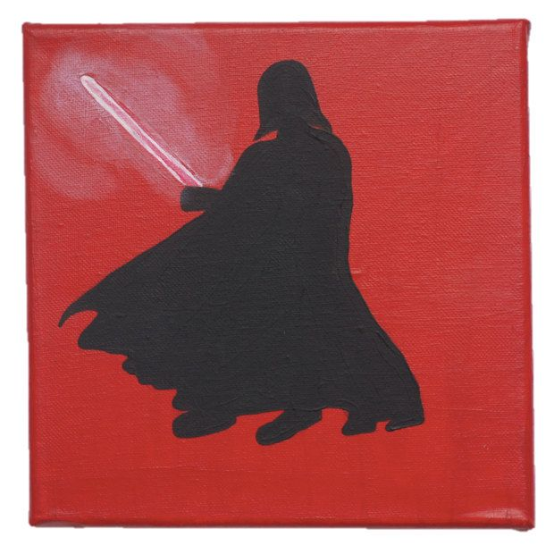 Star Wars Darth Vader Silhouette by BoutiqueAustralia on Etsy