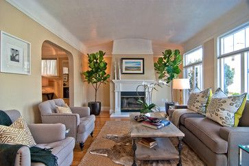 Tamara Mack Design - Staging Projects - contemporary - living room - san…