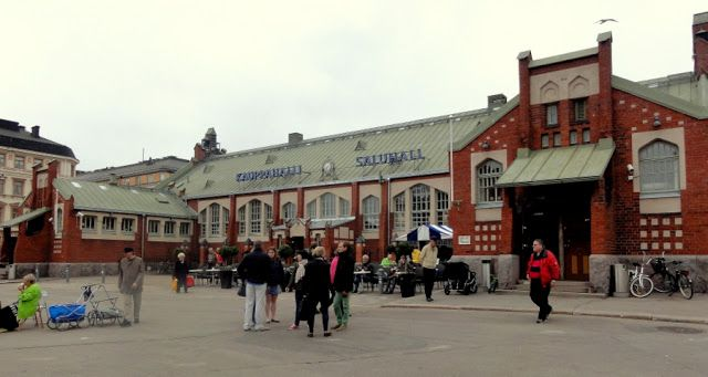 Travel and Lifestyle Diaries Blog: Helsinki: Hietalahti Market Square and Breakfast at Hietalahti Market Hall