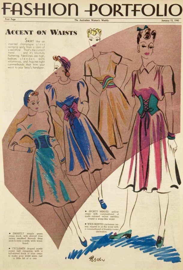 vintage fashion | The War Time Woman