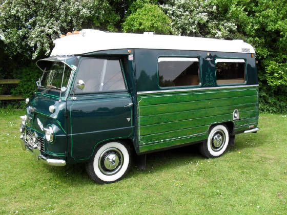 1959 Ford Thames 400E Freighter campervan.