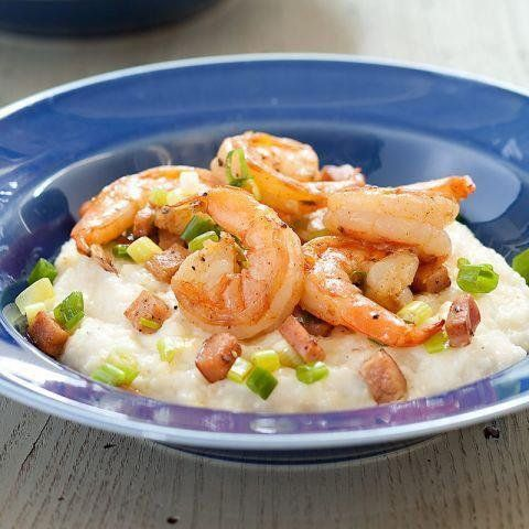 Shrimp with Ham and Cheddar Grits from America's Test Kitchen's Best ...