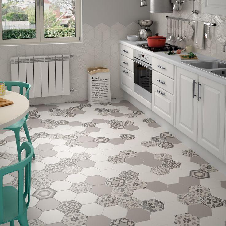 grey-kitchen-floor-tiles-small-hex-tile-marble-hex-floor-tile-hexagon-marble-backsplash-large-hexagon-tile-.jpg (2048×2048)