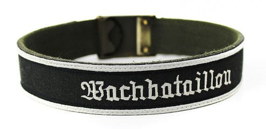 Hundehalsband // Wachbataillon // Bundeswehr