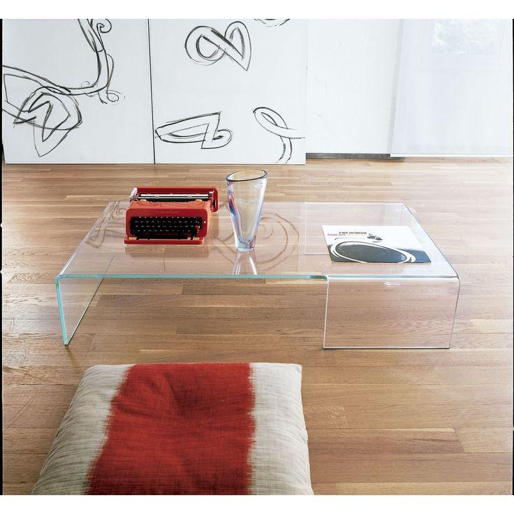 Sovet Italia Mesa de centro Spider Moderna y sencilla, perfecta para decorar tu salón. Mesa de centro Spider de Sovet Italia. Fabricada en cristal en una...