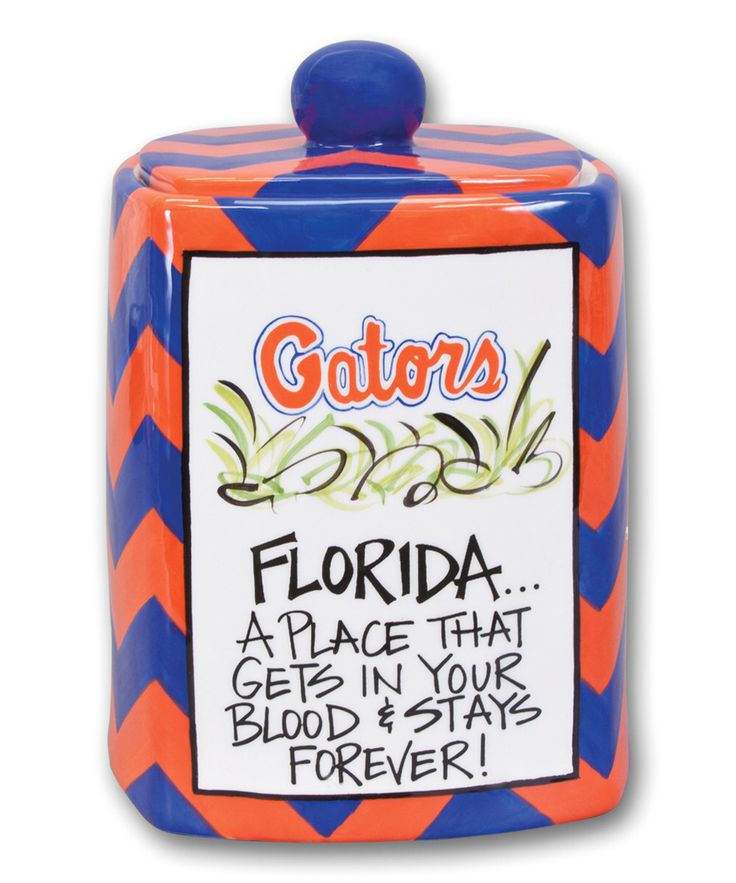 Look at this Florida Gators Canister on #zulily today!