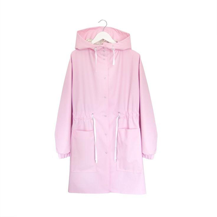 Przeciwdeszczowy płaszcz • miękki ortalion