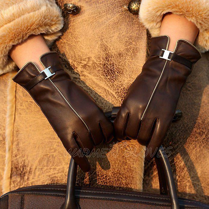 Venta al por mayor envío gratuito e invierno ladies short guantes de cuero moda Camel ( L123PC ) en Guantes y Manoplas de Moda y Complementos Mujer en AliExpress.com | Alibaba Group