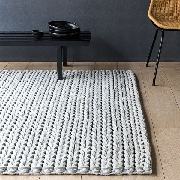 Tapis en laine feutrée dream ligne pure 140x200 - Tapis Cosy