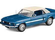 1968 Mustang California Special Coupe in 1:24 by TFM