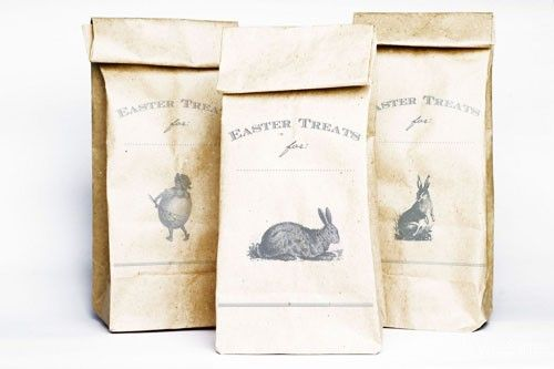 Treat bags.  Free download!