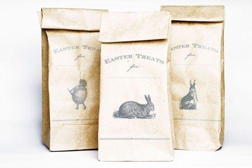 Easter treat bag printable: Craft, Treat Bags, Vintage Easter, Easter Printable, Easter Treats, Free Printables