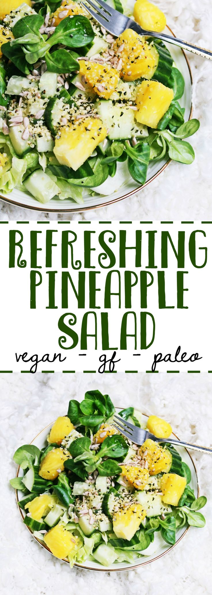 The Easiest and Most Satisfying Salad You'll Ever Make | Refreshing pineapple salad