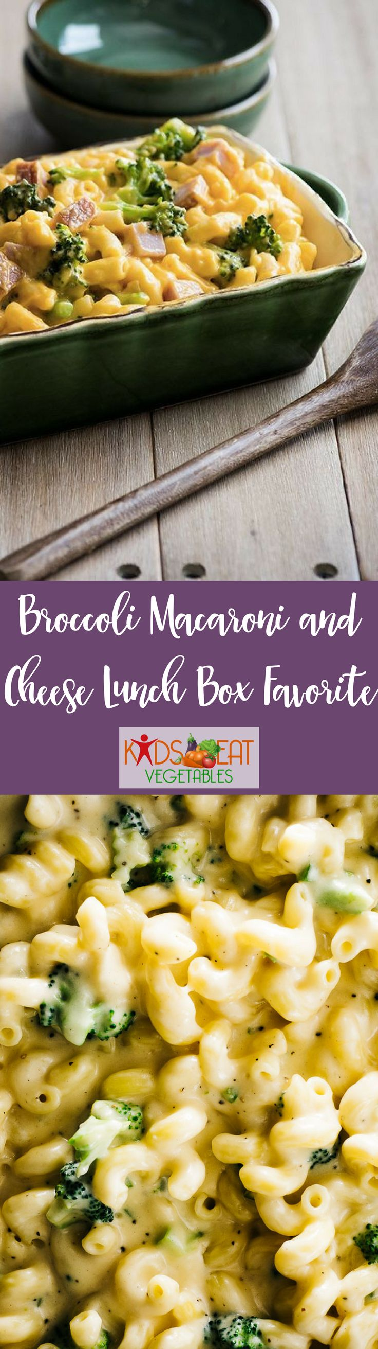 A healthy lunch is so important and this recipe for Broccoli Macaroni and Cheese is sure to be a lunch box favorite. Healthy and easy! Here is the perfect thermos to pack this lunch box favorite. Combine with a fruit, carrot sticks, a small treat and wate