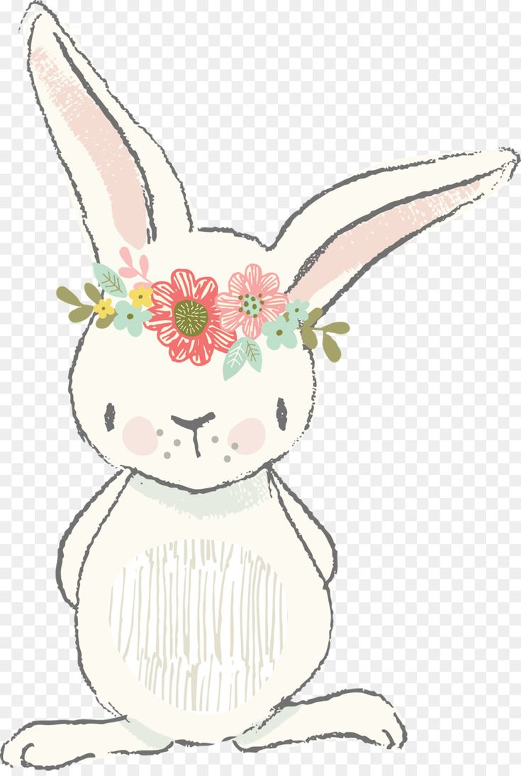 Easter Bunny European rabbit White Rabbit Clip art…