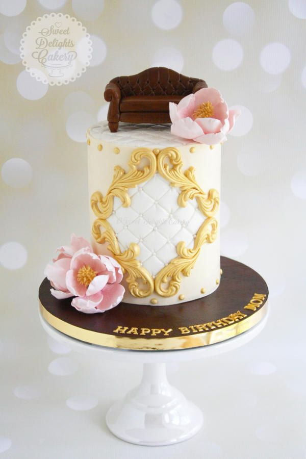 Furniture Inspired Cake by Sweet Delights Cakery